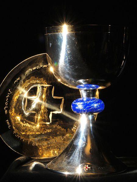 Coppa eucaristica e patena