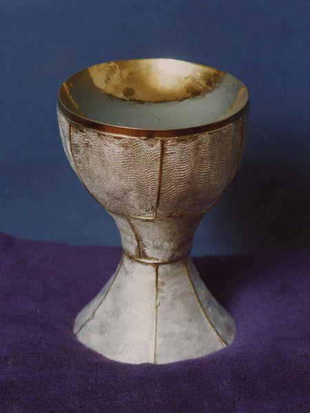 Coppa eucaristica Giovanni Paolo II