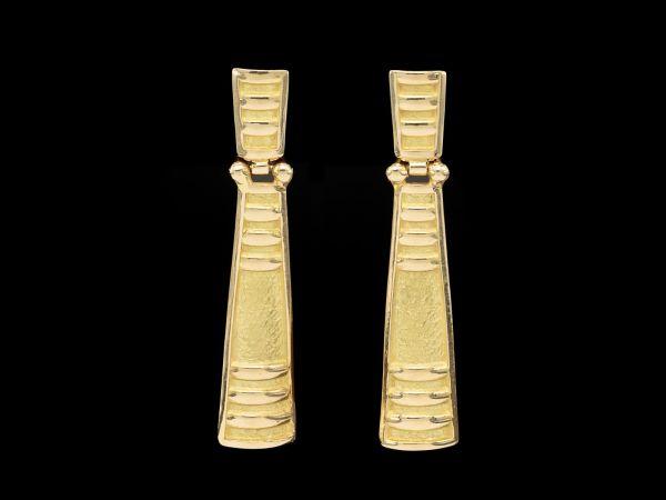 Orecchini oro giallo particolari b