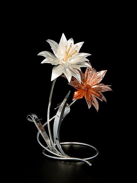 Stella dell'amicizia con 2 fiori