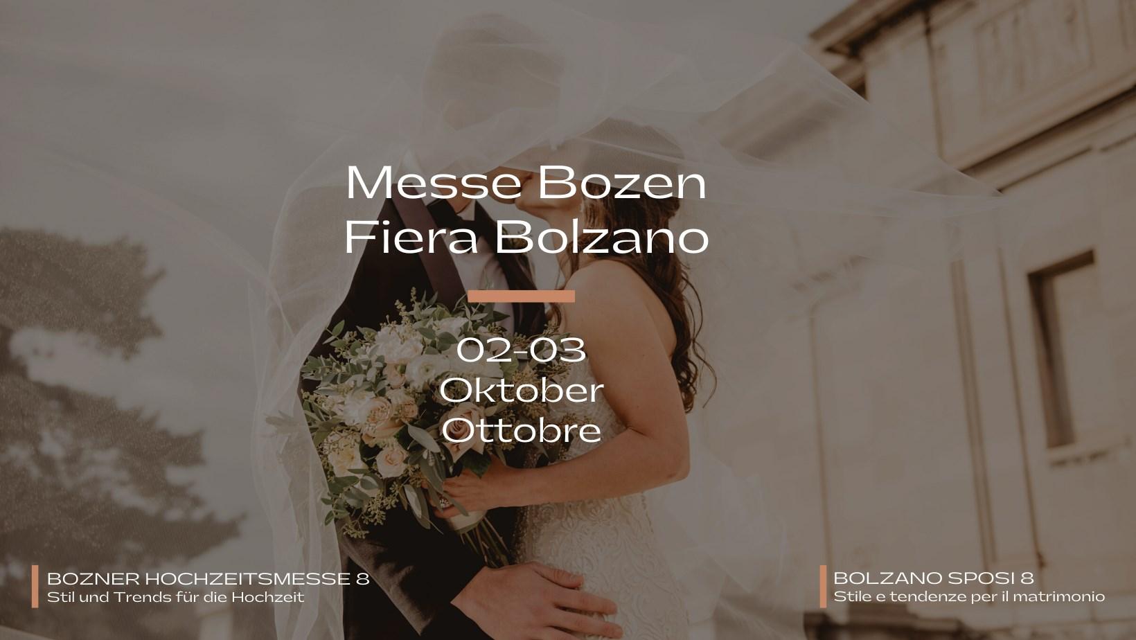Fiera Sposi Bolzano 2021